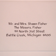 JM Calligraphy | Adirondack Weddings Magazine
