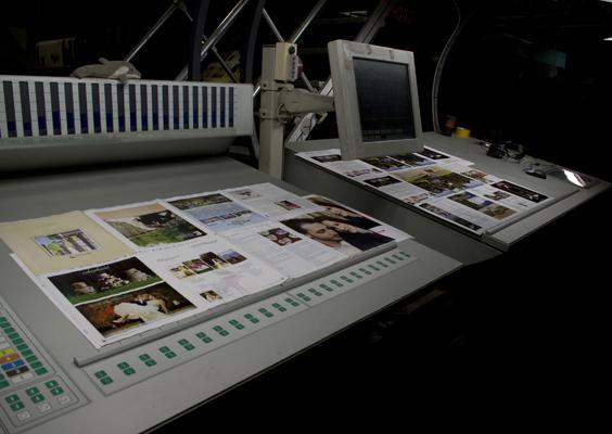Adirondack Weddings | The Wedding Magazine being printed