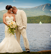 The Whiteface Club & Resort Wedding Venue. Photo by Jeff Foley