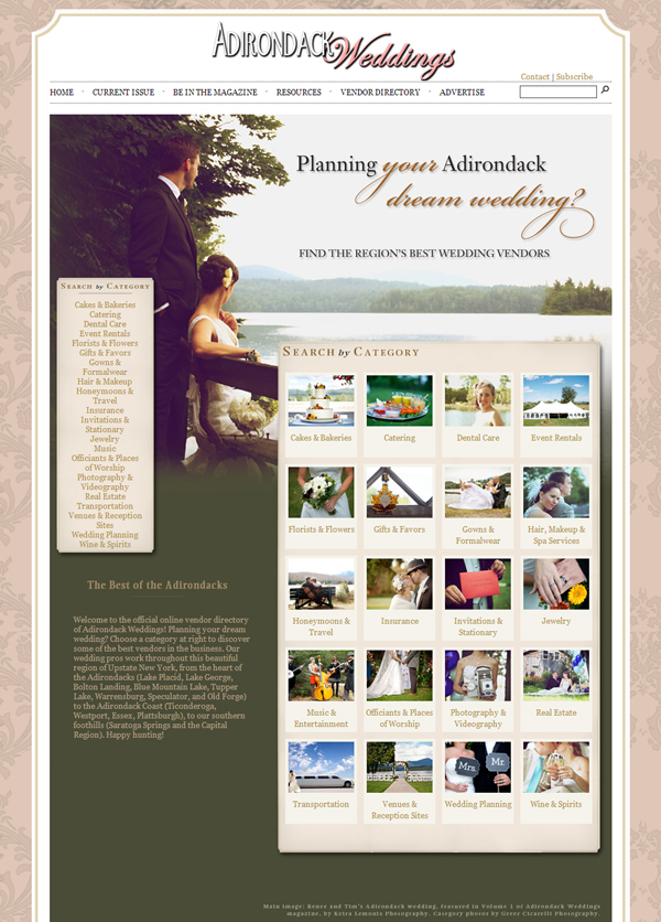 Adirondack Wedding Venues Vendors Hotels