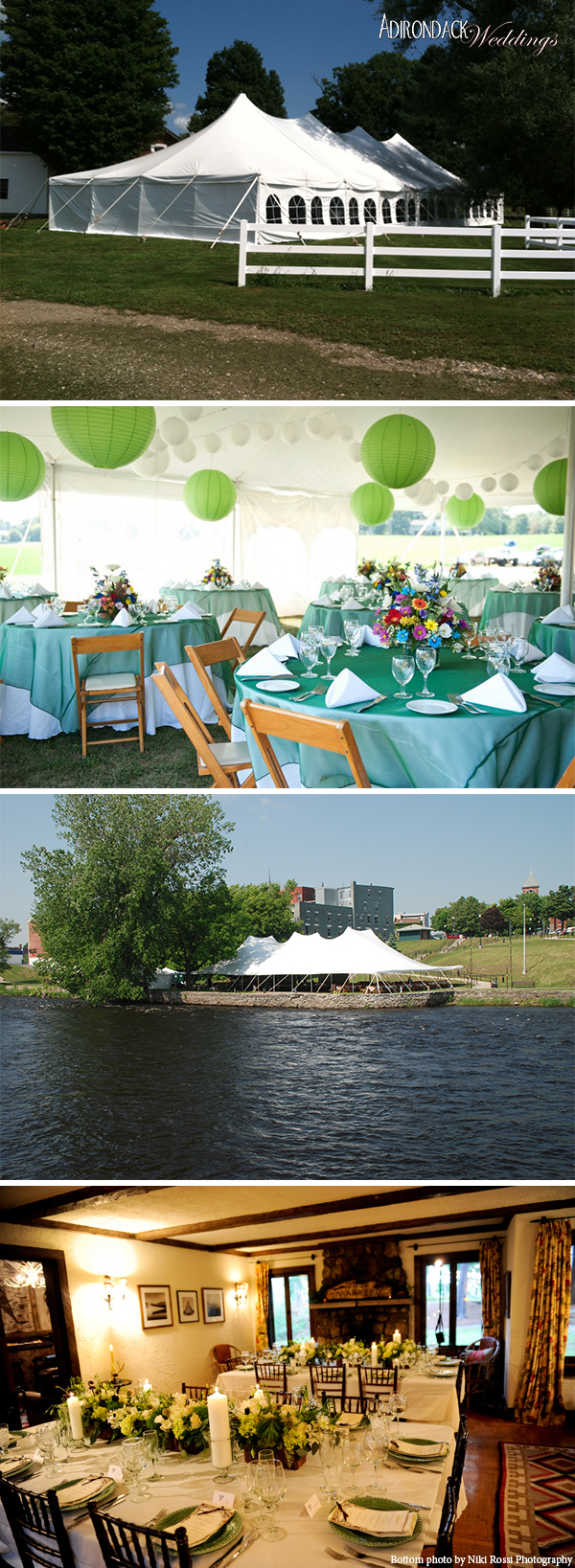 Fosters' Tent Rentals | Adirondack Weddings Magazine
