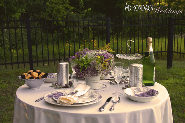 Purple Wildflowers | Adirondack Weddings Magazine