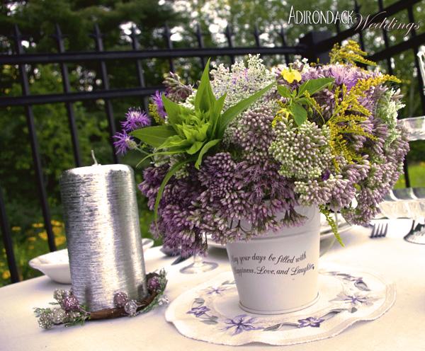 Purple Wildflowers | Adirondack Weddings Magazine