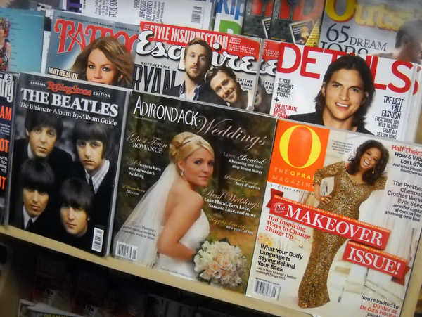 Adirondack Weddings on Newsstands