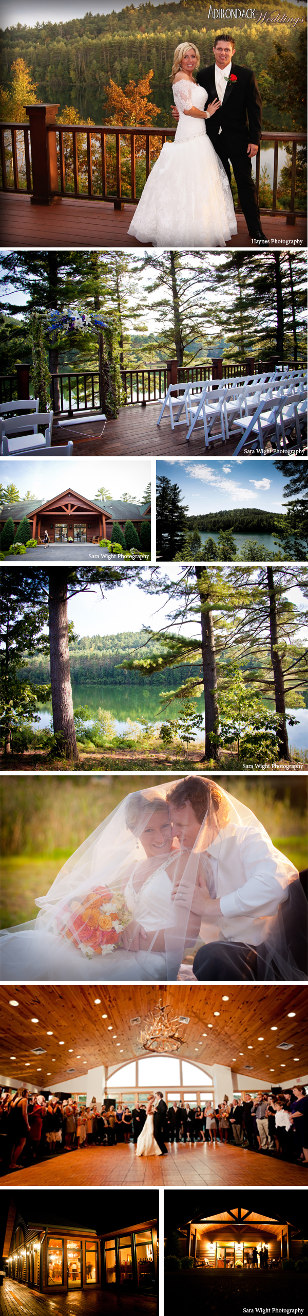 The Lodge on Echo Lake | Adirondack Weddings Magazine