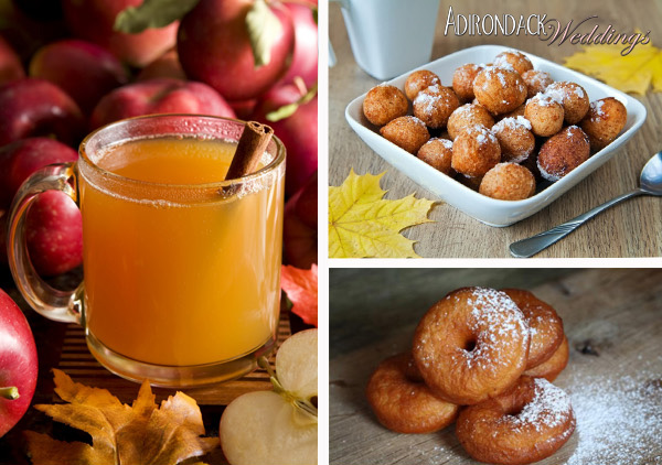 Apple Cider Doughnuts | Adirondack Weddings Magazine