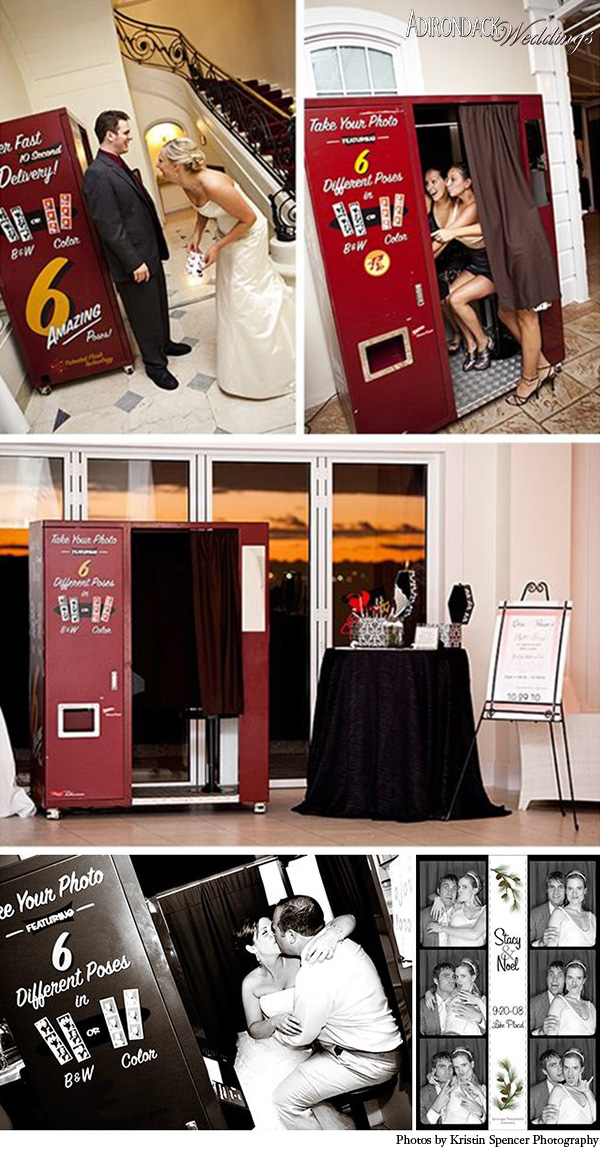 Saratoga Photobooth Company | Adirondack Weddings Magazine