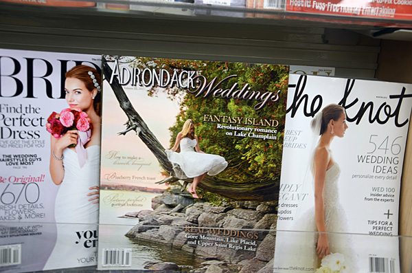 Adirondack Weddings Magazine on Newsstands