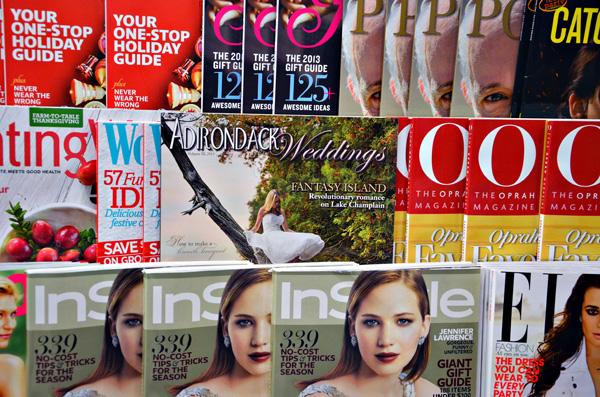 Adirondack Weddings Magazine on Newsstands