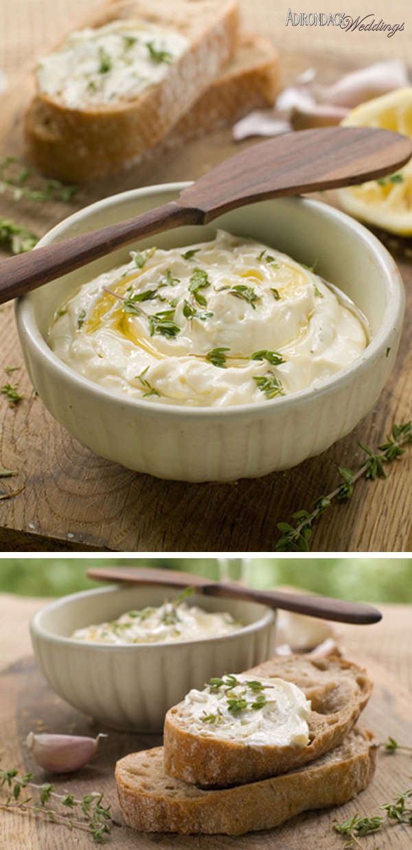 Homemade Dip | Adirondack Weddings Magazine