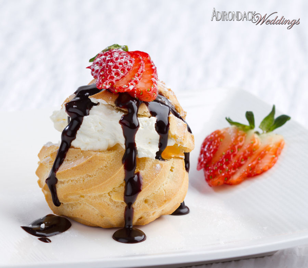 Cream Puffs | Adirondack Weddings Magazine