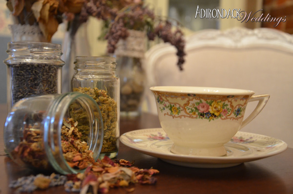 Adirondack Weddings Magazine tea favor
