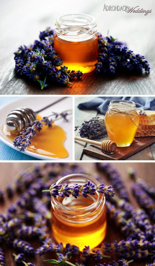 Lavender Honey Favors | Adirondack Weddings Magazine