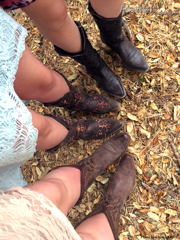 Cowboy Boots | Adirondack Weddings Magazine