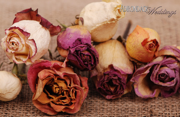 How to dry your wedding flowers | Adirondack Weddings Magazine