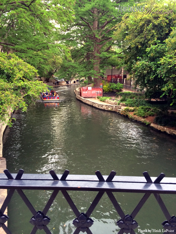 River Walk near The Alamo | Texas Hill Country | Adirondack Weddings Magazine