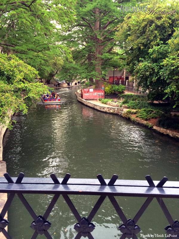River Walk near The Alamo | Texas Hill Country | Adirondack Weddings Magazine