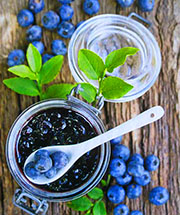 Homemade Adirondack Blueberry Jam