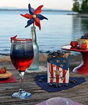 Red, White, & Blueberries: Happy July 4th!
