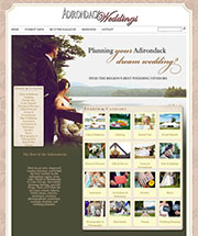The Official Online Vendor Directory of Adirondack Weddings Magazine