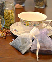 """Tea for Two"" Wedding Favors"