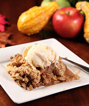 Homemade Adirondack Apple Crisp