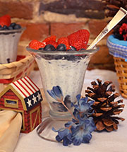 Fourth of July Treat: ADK Patriotic Parfait