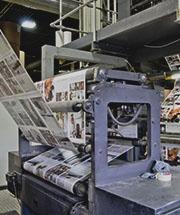Printing the Magazine!