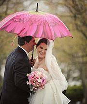 Preparing for a Rainy Wedding Day