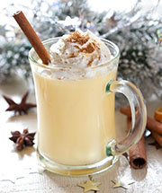 Signature Cocktail: Cinnamon Eggnog
