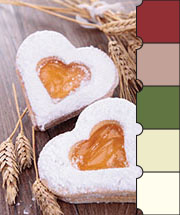 Valentine's Treats Color Palette