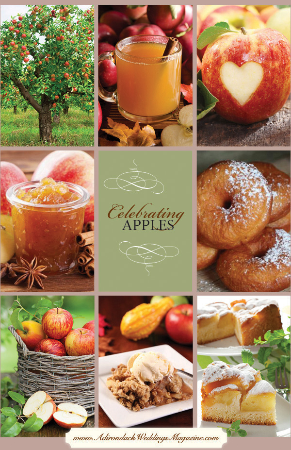 5 great apple recipes from Adirondack Weddings Magazine