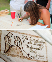 Ryan & Chelsea Part 2: The Perfect ADK Guestbook
