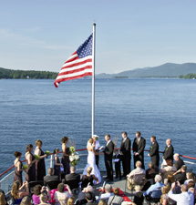The Lake George Steamboat Company | Adirondack Wedding Venue